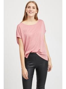 visumi s s top noos 14039490 vila t-shirt brandied apricorn