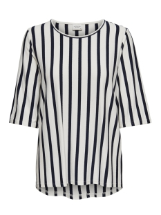 Jacqueline de Yong T-shirt JDYALINA 2 4 TOP JRS 15174711 Cloud Dancer