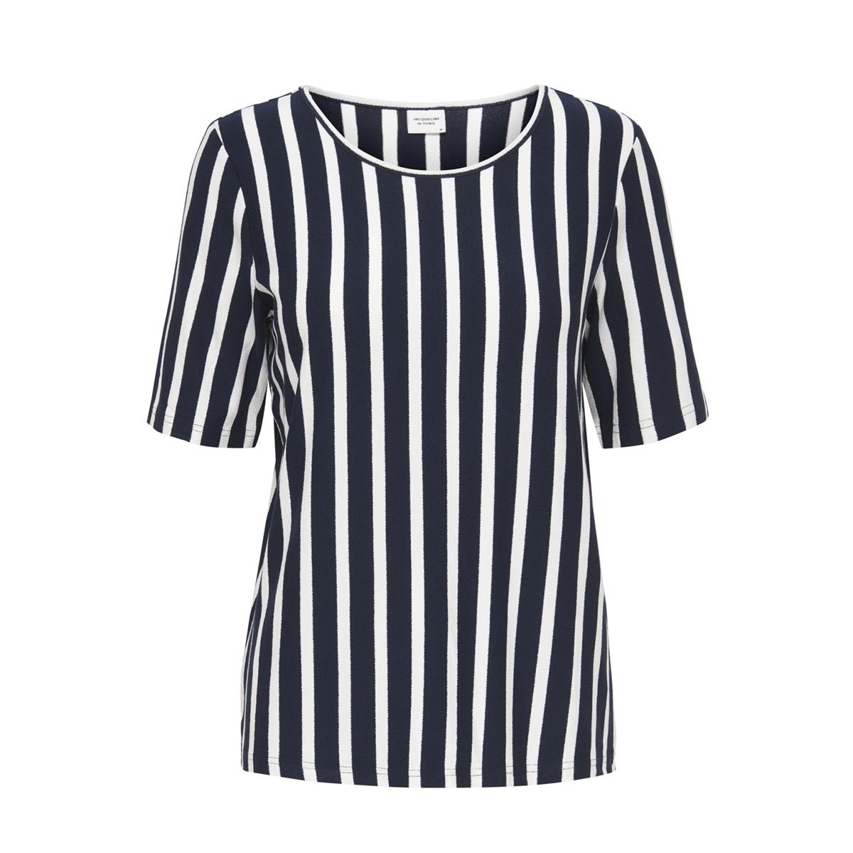 jdyalina 2 4 top jrs 15174711 jacqueline de yong t-shirt navy blazer