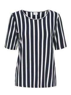 Jacqueline de Yong T-shirt JDYALINA 2 4 TOP JRS 15174711 Navy Blazer