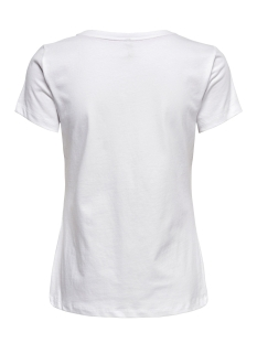 onlfancy fit s s face top box co jr 15182747 only t-shirt bright white/peace