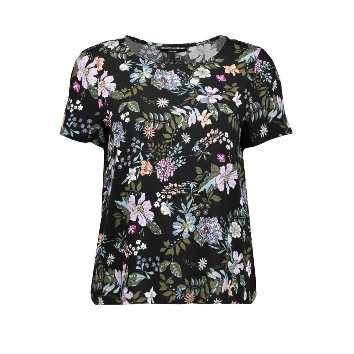vmsimply easy ss top 10211480 vero moda t-shirt black/isa