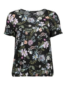 Vero Moda T-shirt VMSIMPLY EASY SS TOP 10211480 Black/ISA