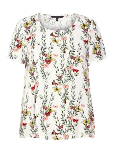 vmsimply easy ss top 10211480 vero moda t-shirt snow white/betty-sn
