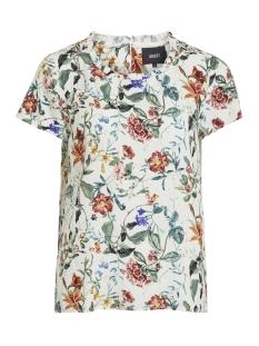 Object T-shirt OBJAMBER S S TOP 102 DIV 23029864 Gardenia