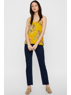 vmwonda nilly singlet exp 10217168 vero moda top lemon curry