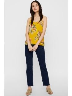 vmwonda nilly singlet exp 10217168 vero moda top lemon curry/lea