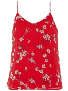 Vero Moda Top VMWONDA NILLY SINGLET EXP Chinese Red/Eliza