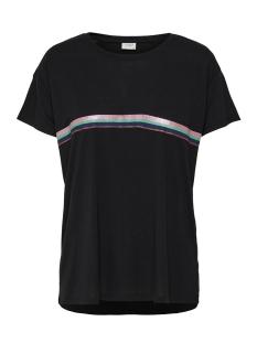 Jacqueline de Yong T-shirt JDYNIXON S S PRINT TOP 04 19 JRS 15176555 Black/STRIPE