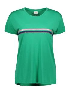 jdynixon s/s print top 04 19 jrs 15176555 jacqueline de yong t-shirt simply green/stripe