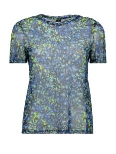 Vero Moda T-shirt VMDIGGY SS MESH T-SHIRT EXP 10218878 Baleine Blue