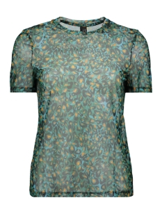 Vero Moda T-shirt VMDIGGY SS MESH T SHIRT EXP 10218878 Scuba Blue