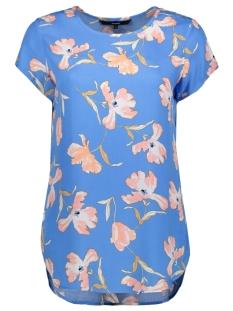 Vero Moda T-shirt VMBOCA SS BLOUSE MULTI AOP 10132802 Granada Sky/TENILLA