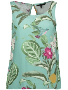 Vero Moda Top VMSIMPLY EASY SL TANK TOP 10211479 Wasabi/TROPICANA