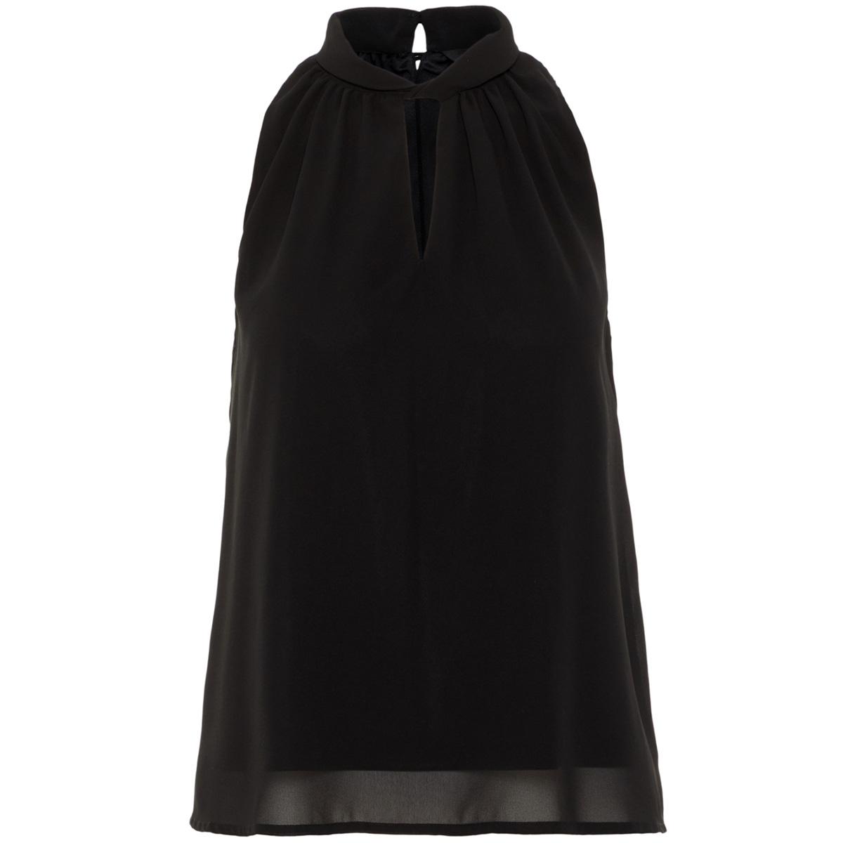 vmline s/l highneck top 10213645 vero moda top black