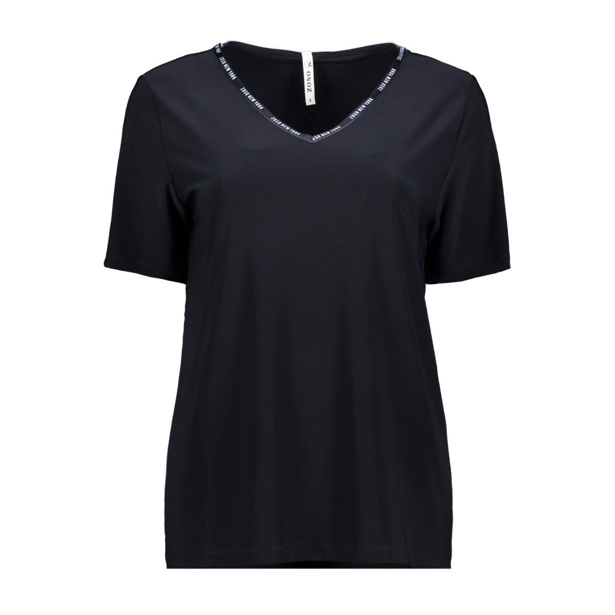 billy splendour top 192 zoso t-shirt navy