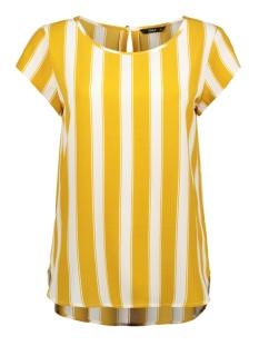 Only T-shirt ONLNOVA LUX AOP S/S TOP 5 WVN 15177698 Cloud Dancer/BERLIN STR