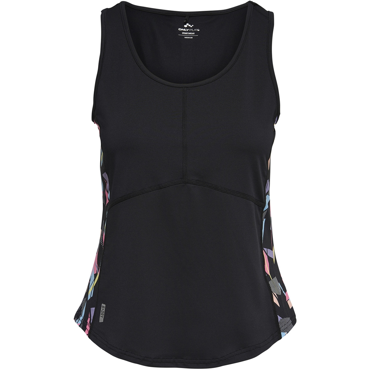 onppyra sl run top 15170236 only play sport top black/w. hydra a