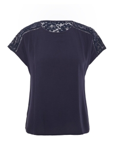 Vero Moda Blouse VMCILLE BOCA SS TOP WVN 10213128 Night Sky