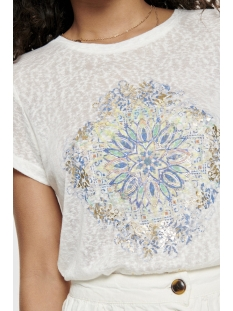 onlriley fit s/s mandala box jrs 15179530 only t-shirt cloud dancer/kindness