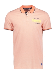 Jack & Jones Polo JORQUINN POLO SS 12152486 Persimmon