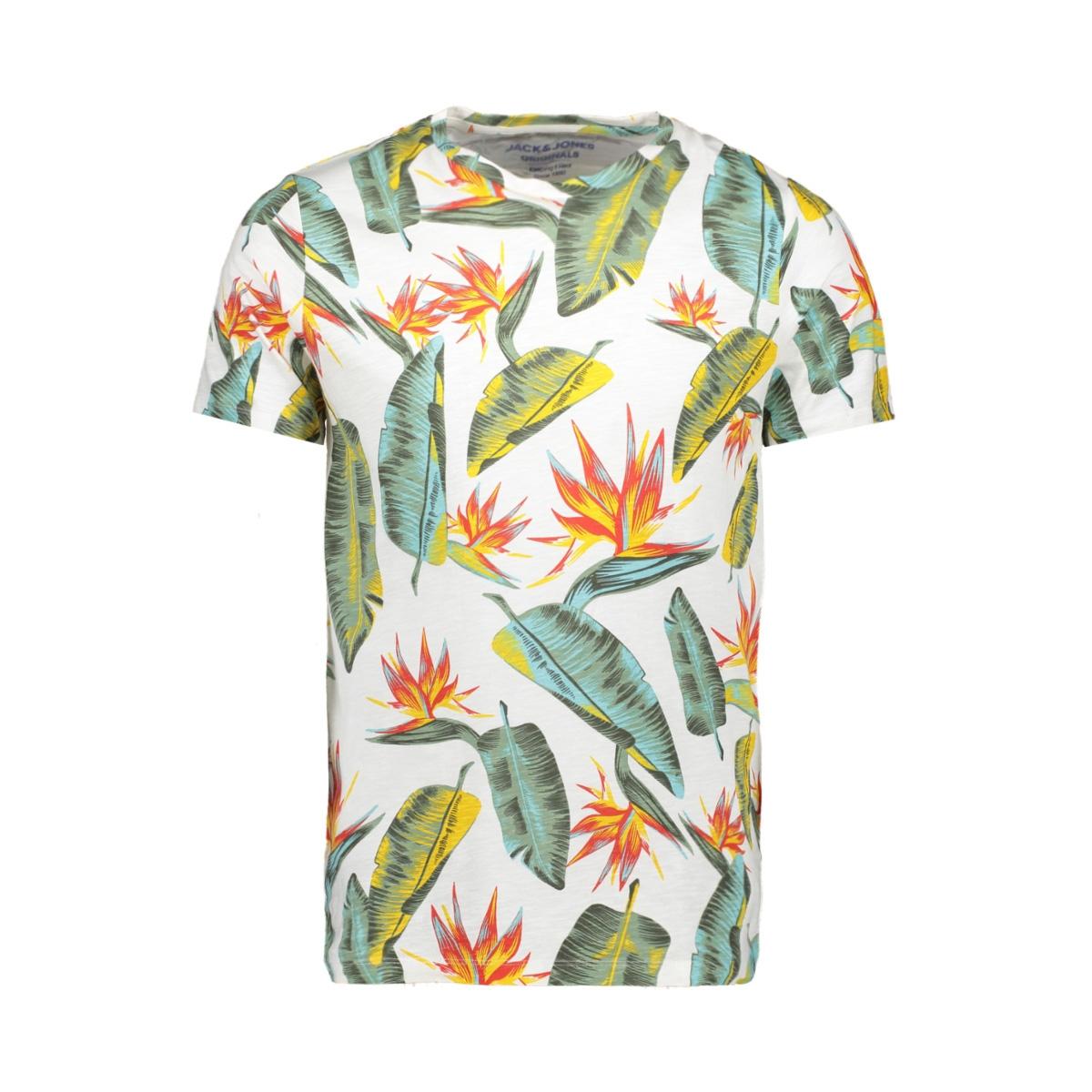 jornewtravelleraop tee ss crew neck 12158251 jack & jones t-shirt cloud dancer