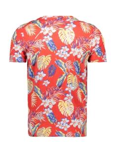 jornewtravelleraop tee ss crew neck 12158251 jack & jones t-shirt fiery red
