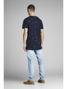 jorstormy tee ss crew neck 12152511 jack & jones t-shirt total eclipse