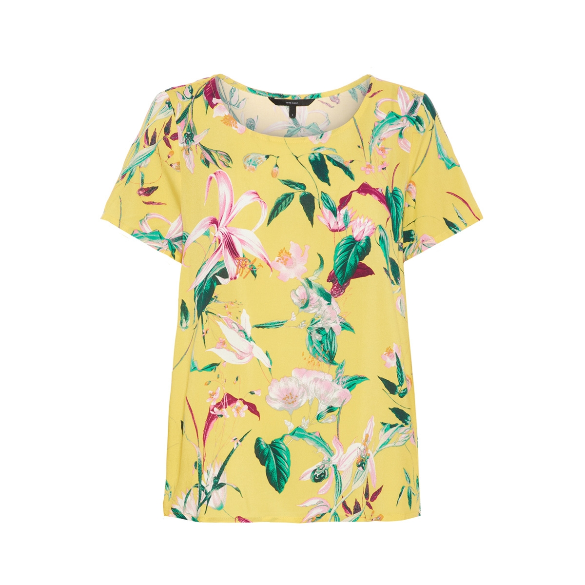 vmsimply easy ss top 10211480 vero moda t-shirt yarrow/trille