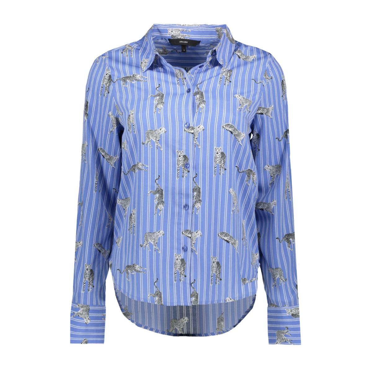 vmnicky l/s shirt d2-1 10193878 vero moda blouse granada sky