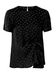 Vero Moda T-shirt VMSILLE DOT S/S MIDI TOP WVN 10210102 Black