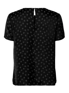 vmsille dot s/s midi top wvn 10210102 vero moda t-shirt black
