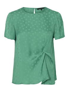 Vero Moda T-shirt VMSILLE DOT S/S MIDI TOP WVN 10210102 Holly Green