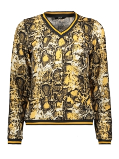 Only Trui ONLSELCO SNAKE  L/S TOP JRS 15181942 Spruce Yellow