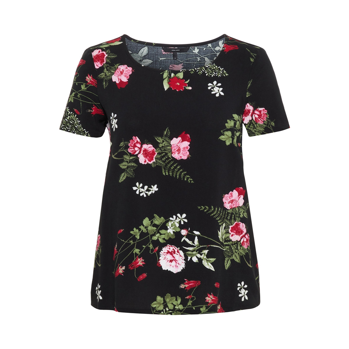 vmsimply easy ss top 10211480 vero moda t-shirt black/laila black