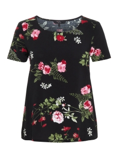 Vero Moda T-shirt VMSIMPLY EASY SS TOP 10211480 Black/LAILA BLACK