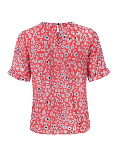 vianca top dayz blouse animal red