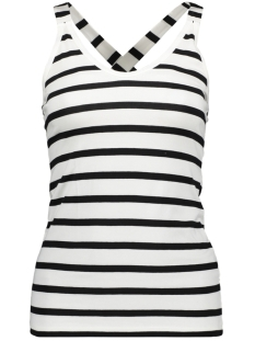 10 Days Top THE WRAPPER 21 704 9900 SOFT WHITE/BLACK