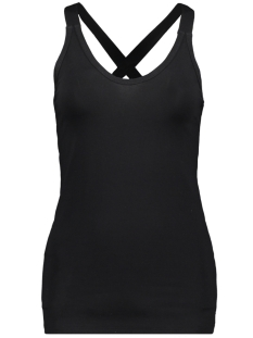 10 Days Top THE WRAPPER 21 702 9900 BLACK