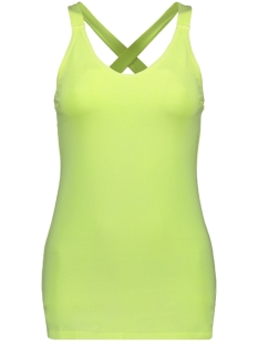 10 Days Top WRAPPER 20 700 9102 FADED FLUOR YELLOW