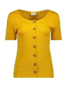 Vila T-shirt VICONIA S/S TOP 14054396 Golden Rod