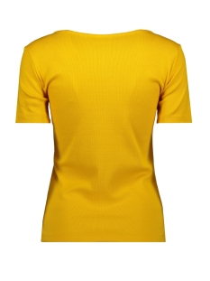viconia s/s top 14054396 vila t-shirt golden rod