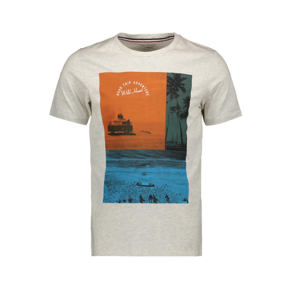 pktgms poetry tee ss 12153816 produkt t-shirt white melange