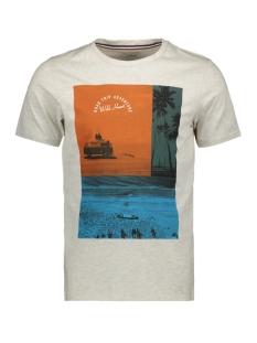 Produkt T-shirt PKTGMS POETRY TEE SS 12153816 White melange