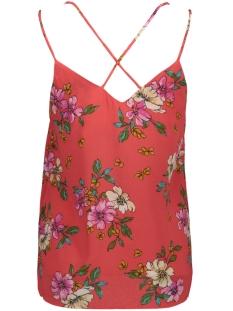 jdytrick treats singlet wvn 15174352 jacqueline de yong top cayenne/pink flower