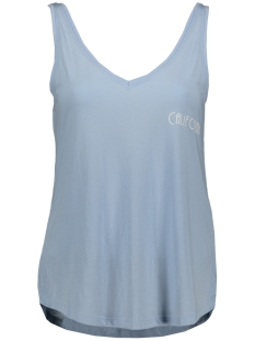 Jacqueline de Yong Top JDYCITY ICON STRAP PRINT TOP JRS 15175246 Cashmere Blue/CALIFORNIA