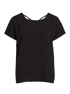 Object T-shirt OBJCLARISSA S/S TOP 103 23029806 Black/SOLID
