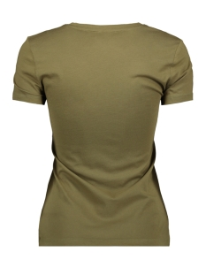 onlflea fit s/s leo top box co jrs 15183203 only t-shirt martini olive/wildest