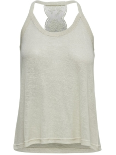 Only Top ONLMARIE LACE SINGLET JRS 15179384 Whitecap Gray/MELANGE