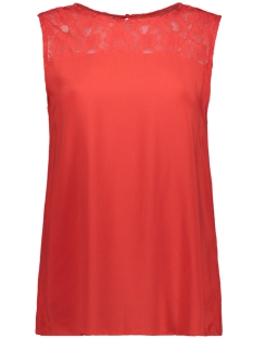 Jacqueline de Yong Top JDYFAMOUS S/L LACE TOP WVN 15174079 High Risk Red
